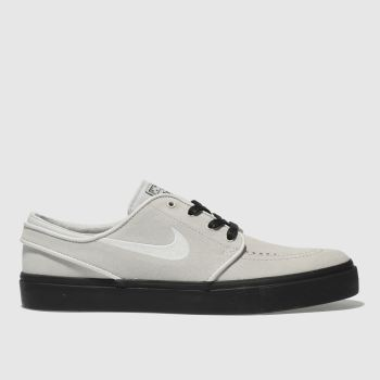 Nike Sb Light Grey Zoom Stefan Janoski Mens Trainers