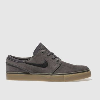 Nike Sb Dark Grey Zoom Stefan Janoski Mens Trainers