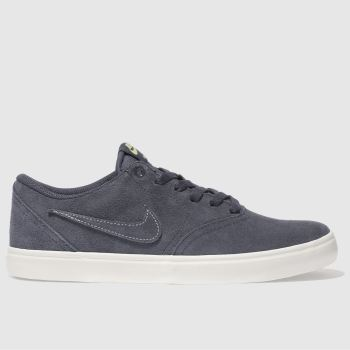 Nike Sb Navy CHECK SOLARSOFT Trainers