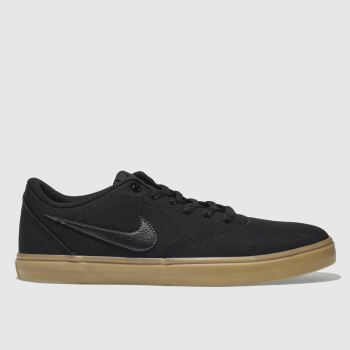 Nike Sb Black Check Solarsoft Mens Trainers