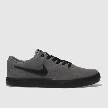 Nike Sb Grey Check Solarsoft Mens Trainers