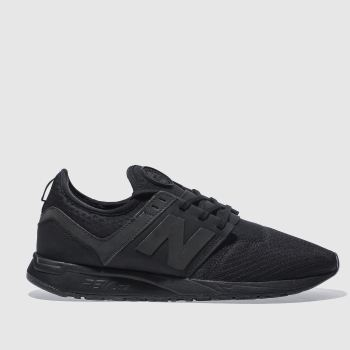 New Balance Black 247 Trainers
