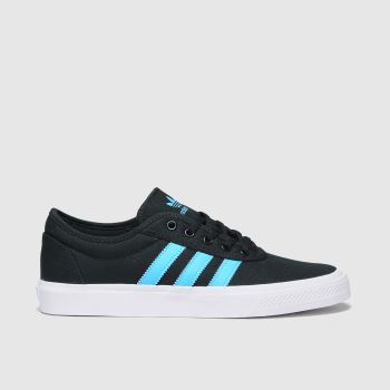 adidas Black and blue Adi-ease Mens Trainers