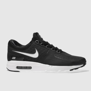 mens black   white nike air max zero essential trainers  79b48ddf5a89