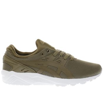 Asics Khaki Gel-Kayano Evo Mens Trainers