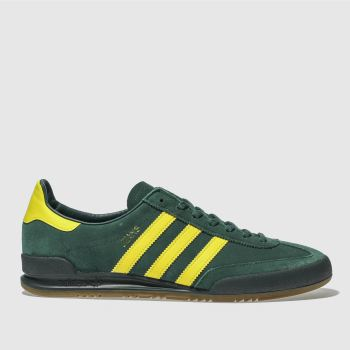 Adidas Dark Green Jeans Mens Trainers