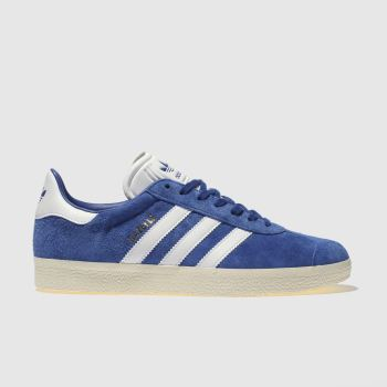 Adidas Blue GAZELLE Trainers