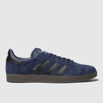 Adidas Navy GAZELLE Trainers