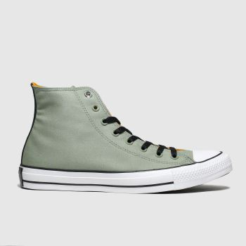 Converse Khaki All Star Space Explorer Hi Mens Trainers