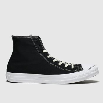 Converse Black & White Chuck Taylor All Star Renew Hi Mens Trainers