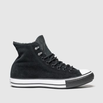 Converse Black All Star Winter Waterproof Hi Mens Trainers