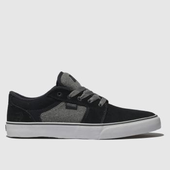 Etnies Navy & Grey Barge Ls Mens Trainers