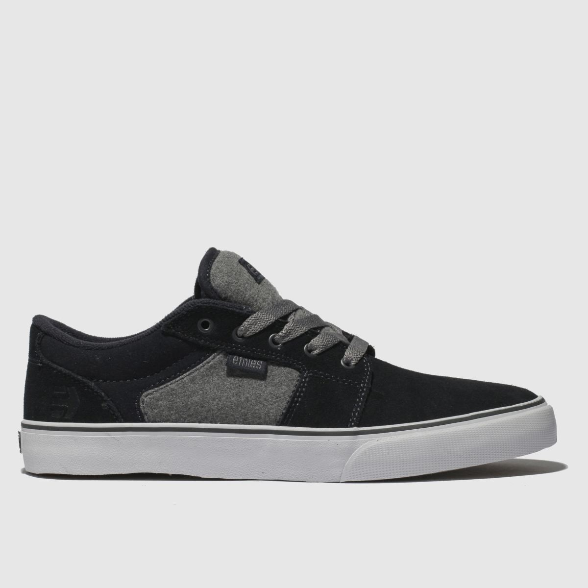 Etnies Navy & Grey Barge Ls Trainers