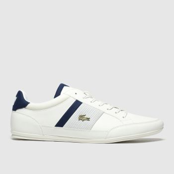 Lacoste White Chaymon Mens Trainers