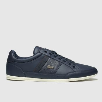Lacoste Navy Chaymon c2namevalue::Mens Trainers