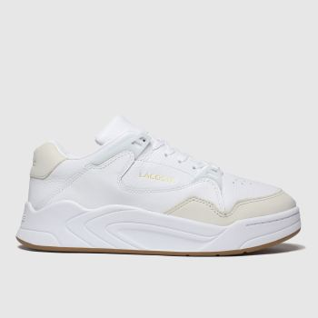 Lacoste White Court Slam Mens Trainers
