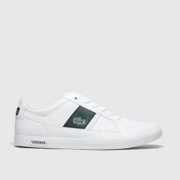 Lacoste White Europa Mens Trainers#
