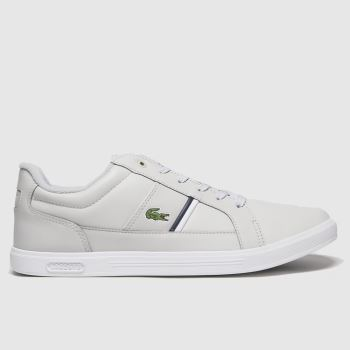 Lacoste Light Grey Europa Mens Trainers