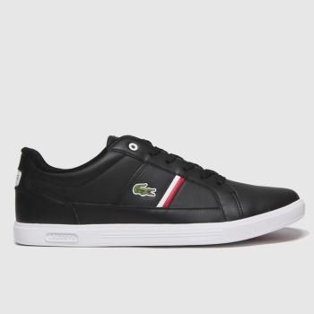 Lacoste Black Europa Mens Trainers
