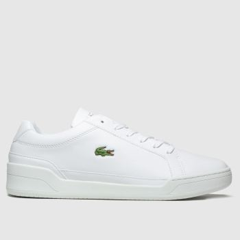 Lacoste White Challenge Mens Trainers