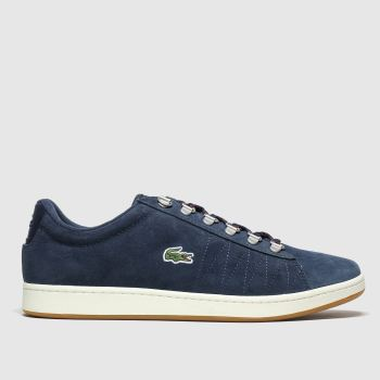Lacoste Navy Carnaby Evo Mens Trainers