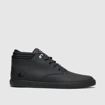 Lacoste Black Esparre Winter Trainers
