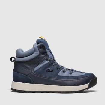 Lacoste Navy Urban Breaker Mens Trainers