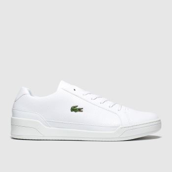 Lacoste White Challenge c2namevalue::Mens Trainers