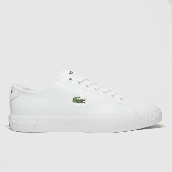 Lacoste White Gripshot Mens Trainers#