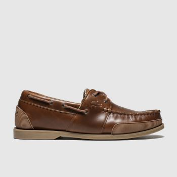 Lacoste Brown Nautic Mens Trainers