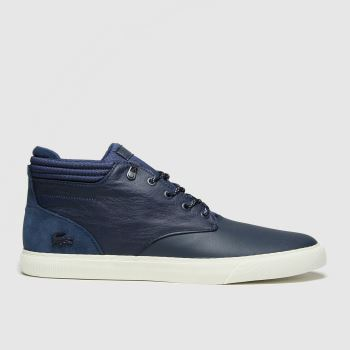 Lacoste Navy Esparre Chukka Mens Trainers