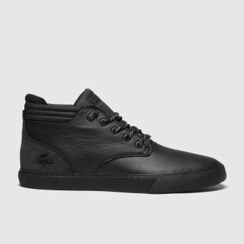 Lacoste Black Esparre Chukka Mens Trainers