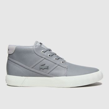Lacoste Grey Gripshot Chukka Mens Trainers#