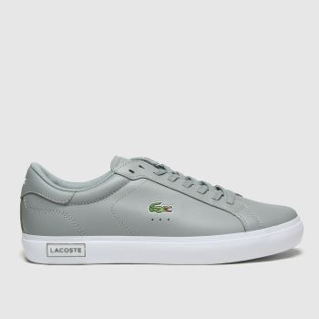 Lacoste Grey Powercourt Mens Trainers