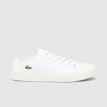 Lacoste White Topskill Mens Trainers
