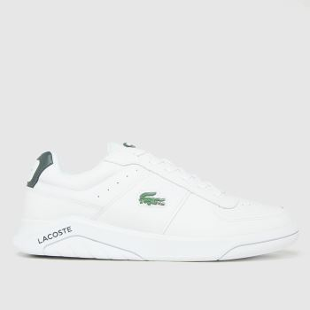Lacoste White Game Advance Mens Trainers