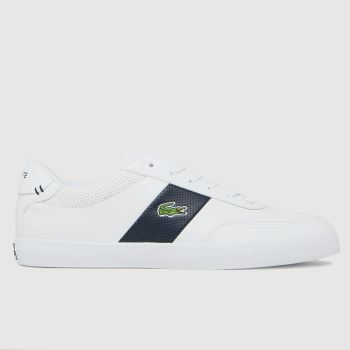 Lacoste White Court- Master Mens Trainers