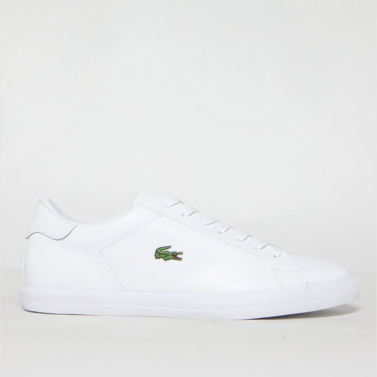 Click to view product details and reviews for Lacoste White Lerond Plus Trainers.