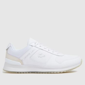 Lacoste White Joggeur 2020 Mens Trainers