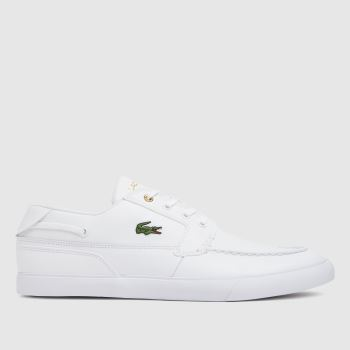 Lacoste White Bayliss Mens Trainers