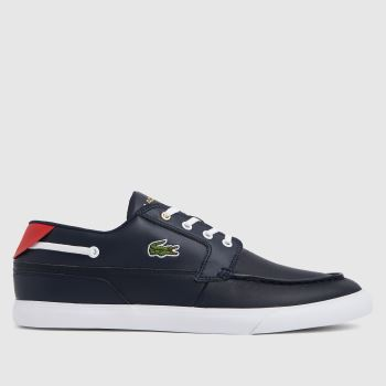 Lacoste Navy Bayliss Mens Trainers
