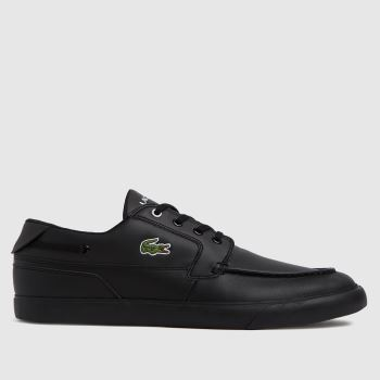 Lacoste Black Bayliss Mens Trainers