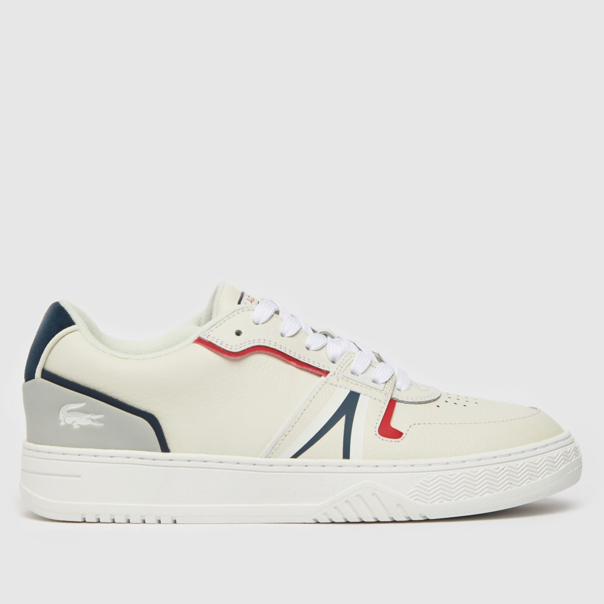 Lacoste White & Navy L001 Trainers
