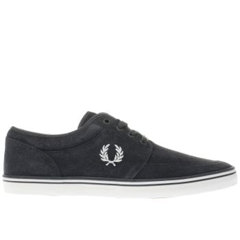 FRED PERRY DARK GREY STRATFORD TRAINERS