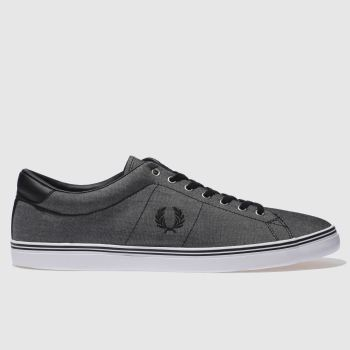 Fred Perry Grey Underspin Mens Trainers