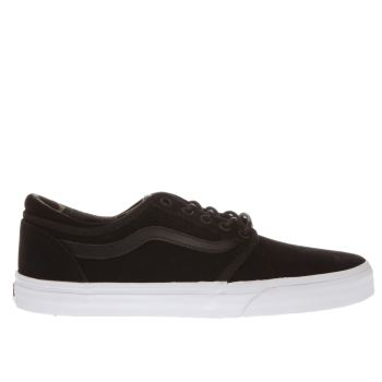 VANS BLACK CORDOVA TRAINERS