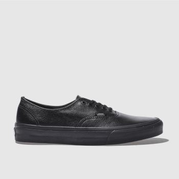 Vans Black Authentic Mens Trainers#