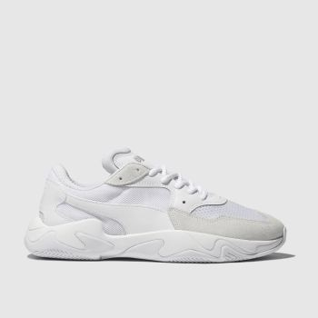 Puma White Storm Origin Mens Trainers