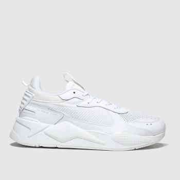 Puma White Rs-x Winterized Mens Trainers