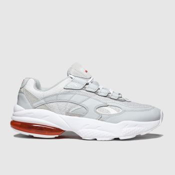 Puma Light Grey Cell Venom Mens Trainers